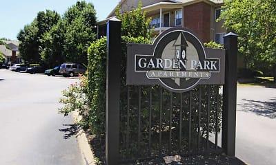 Community Signage, Garden Park Apartments, 1