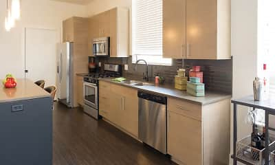 Kitchen, The Residences at Park Place, 1