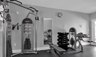 Fitness Weight Room, Las Brisas Gardens, 1