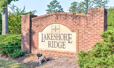 Community Signage, Lakeshore Ridge, 2