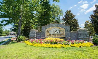 Community Signage, Haven at Commons Park, 2