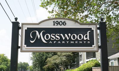 Community Signage, Mosswood Apartments, 0