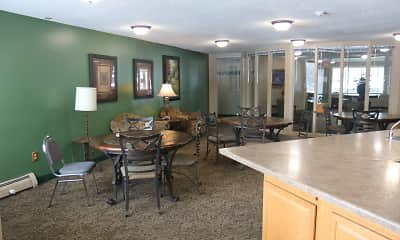 Dining Room, Emerald Pointe Apartments, 2