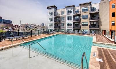 Pool, One Harrison, 1