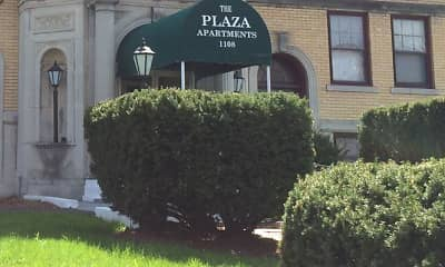 Community Signage, Plaza Apartments, 1