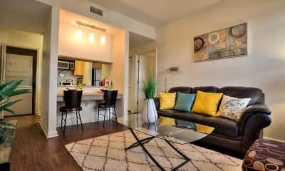 Living Room, Legacy Student Living, 0