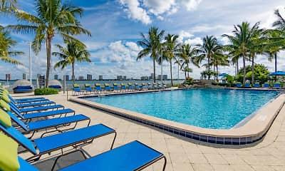 Pool, Marina Key, 1