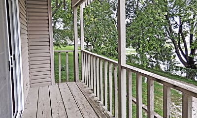 Patio / Deck, Lakeview Village - Ralston, 2