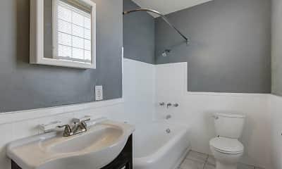 Bathroom, Johnson Apartments, 2