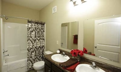 Bathroom, The Heights at Delaware Ridge, 2