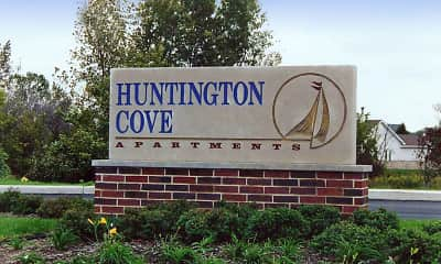 Community Signage, Huntington Cove, 1