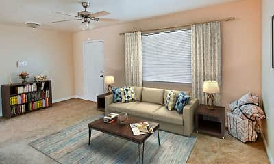 Living Room, Acadian and South College Gardens, 0