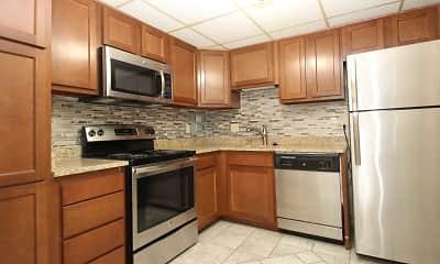 Kitchen, Bellevue Apartments, 0