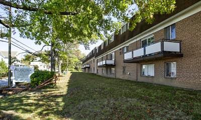 Building, Franconia Apartments, 1