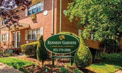Community Signage, Kennedy Gardens Apartments, 0