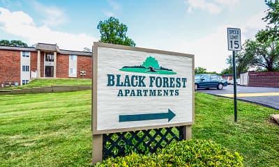 Community Signage, Black Forest, 2