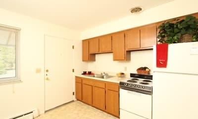 Kitchen, Greystone Lofts at Reynolds Road, 1