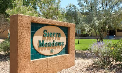 Community Signage, Sierra Meadows, 2