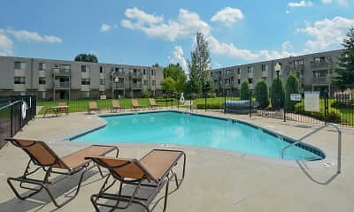 Pool, Eagle Pointe Apartments, 0
