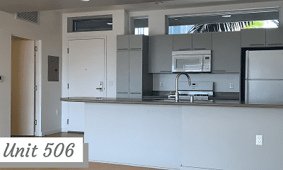 Kitchen, Palms Apartments, 1