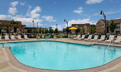 Pool, Arbor Brook Apartments, 2