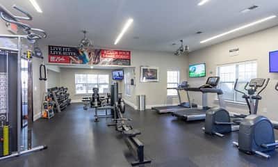 Fitness Weight Room, University Suites Student Apartments, 2