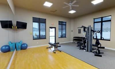 Fitness Weight Room, StoneMill Pond Apartments, 1