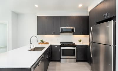 Kitchen, MV Apartments, 0