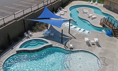 Pool, The Gardens On Timberlake Apartments, 0