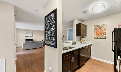 Kitchen, Kernan Oaks Apartments, 0