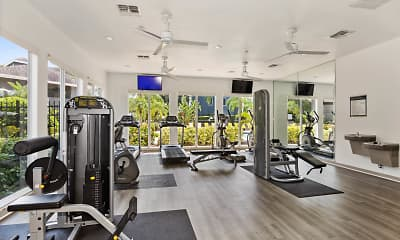 Fitness Weight Room, Arbor Walk, 1