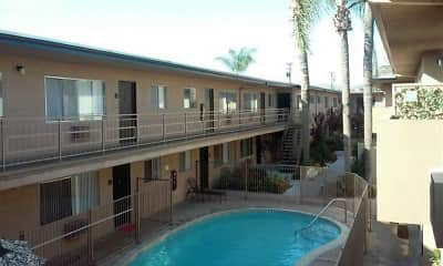 Pool, Ramona Palm Apartment Homes, 2