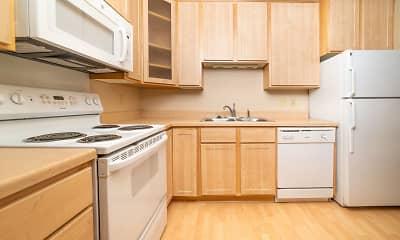 Kitchen, Sun Cliffe Apartments, 1