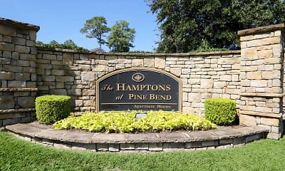 Community Signage, Pine Bend and The Hamptons, 1