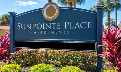 Community Signage, Sunpointe Place, 2
