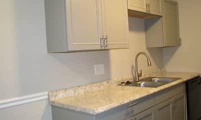Kitchen, Overlook 380 Apartments, 2