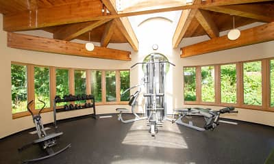 Fitness Weight Room, Highland On The Park, 2