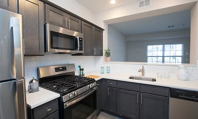 Kitchen, The Commons Upper Saddle River, 1