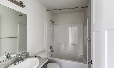 Bathroom, Chehalem Pointe Apartments, 2