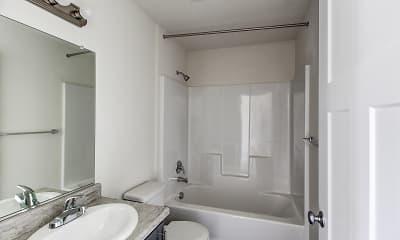 Bathroom, Chehalem Pointe Apartments, 2