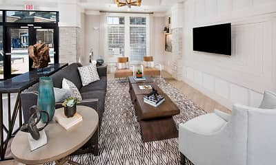 Living Room, Residence at Riverwatch, 1