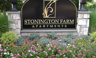Community Signage, Stonington Farm Apartments, 2