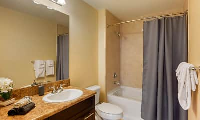 Bathroom, Red Road Commons Student Living, 2