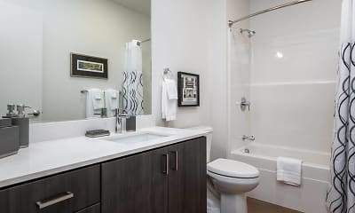 Bathroom, The Gordon Lofts, 2