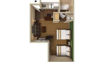 Furnished Studio - Seattle - Bothell - Canyon Park, 2