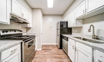 Kitchen, Arbors at North Hills, 0