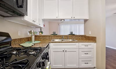 Kitchen, Fairway Manor, 1