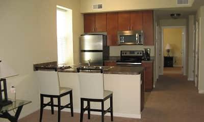 Kitchen, COBA Apartments, 2