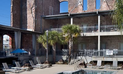 Pool, American Can Apartments, 1