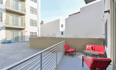 Patio / Deck, The Greenery - Student Housing, 2